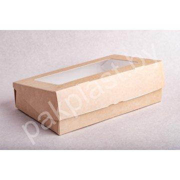 ECO TABOX PRO Коробка с окном DoEco 200х120х40мм. 1000мл.