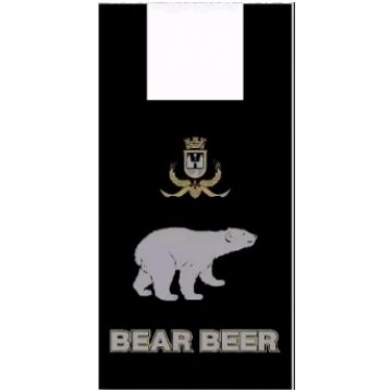 Пакет типа майка 30+16х55 (15) Артпласт Медведь