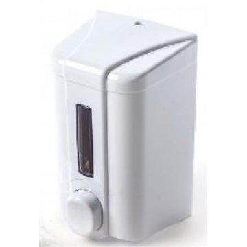 500мл. Диспенсер для жидкого мыла  белый S2