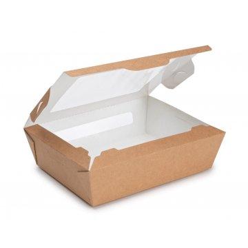 ECO SALAD ВIO Коробка с окном DoEco 150х115х50мм. 600мл.