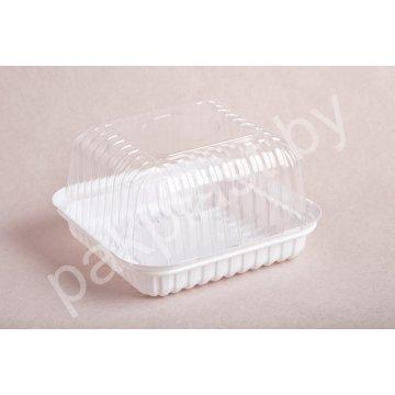 Контейнеры одноразовые пластиковые упаковочные УК-217В-03, ПЭТ, прозрачная, ПЩ-1.68