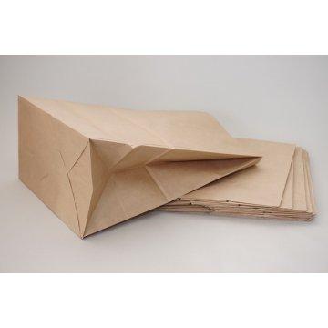 Пакет бумажный на вынос 260х150х350мм.Крафт 70