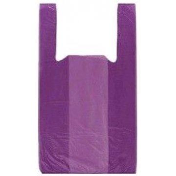 Пакет типа майка 45+30x75 (15) Фиолетовая