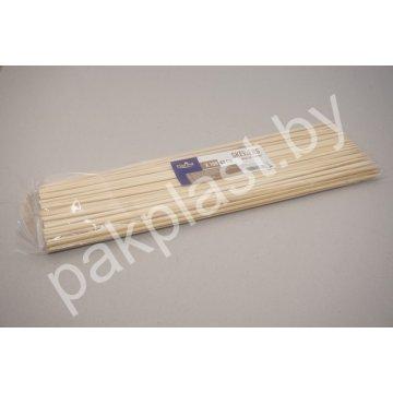 Палочки для шашлыка деревянные дл.40 см. 1х100 шт.