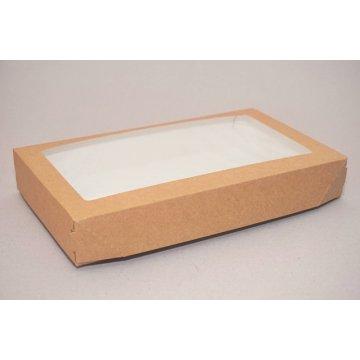 ECO TABOX PRO Коробка с окном DoEco 260х150х40мм. 1450мл.