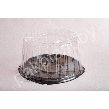 Контейнеры одноразовые пластиковые упаковочные УК-296В-06,верх-низ  ПЭТ, прозрачная, ПЩ-3,29 Б