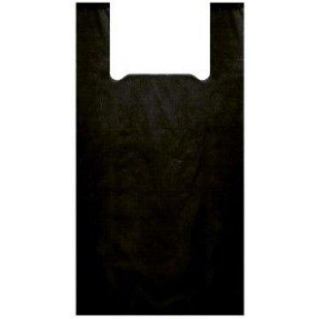 Пакет типа майка 45+30x75 (25) Артпласт (Черная люкс)