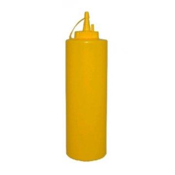 Дозатор для соусов 375мл. пластик MG (желтый)