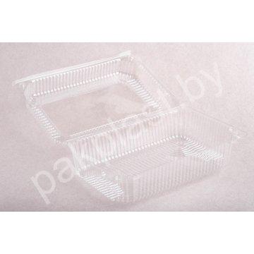 Контейнеры одноразовые пластиковые упаковочные УК-47-02, ПЭТ, прозр. ПЩ-3.0