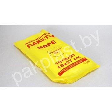 Изделия упак. из п/э ПЭНД.: Фасовочные пакеты №2_180*270*0,010мм (по 500шт) для пищ. прод.