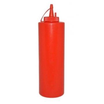 Дозатор для соусов 375мл. пластик MG (красный)