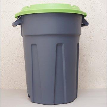 Бак для мусора с крышкой,80л.
