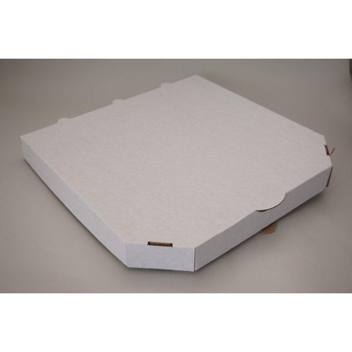 430х430х35мм. Ящик из гофрированного картона с БПС белый