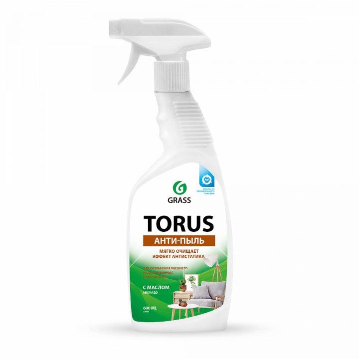 Грасс Очиститель-полироль для мебели Торус, (анти-пыль) 600мл. (триггер)