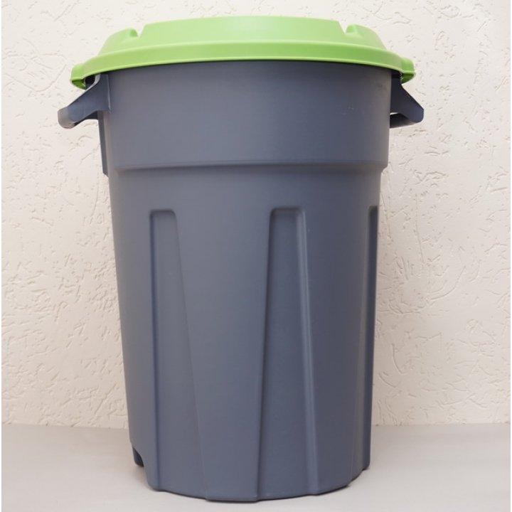 Бак для мусора с крышкой,60л.