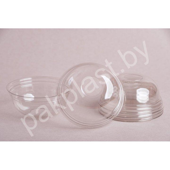Крышка пластиковая с отверстием к стакану А300 D93, 1х100шт