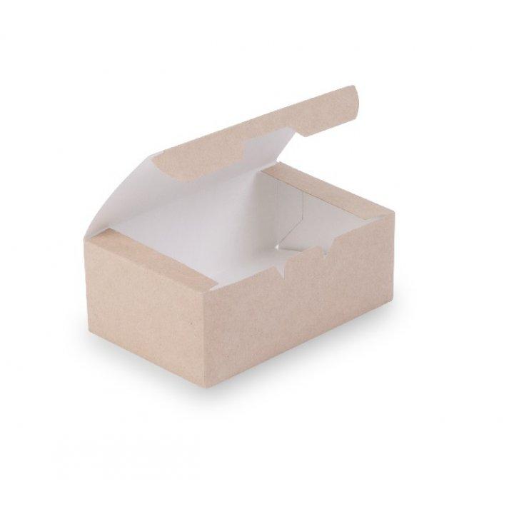 ECO FAST FOOD BOX S Коробка наггетсы мини для 6 шт. 115х75х45мм