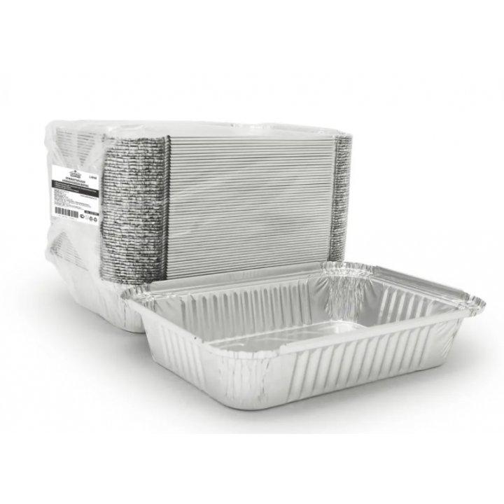 410-008 Форма алюминиевая L-край 218х156х38мм, 880мл.