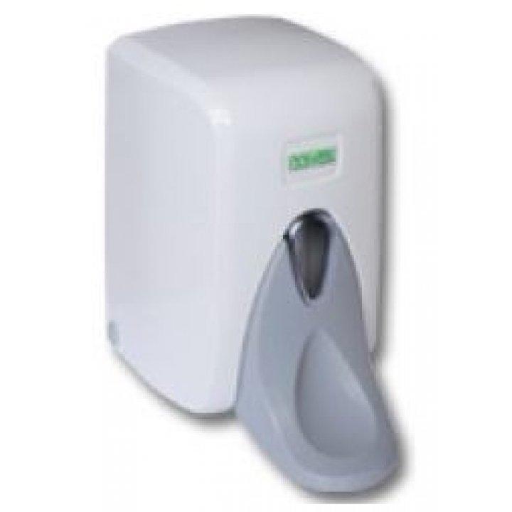 1000мл. Диспенсер для жидкого мыла локтевой белый S6М