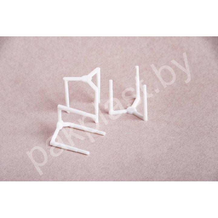 Подставка (тринога) пластиковая в коробки для пиццы 1*1000 шт.