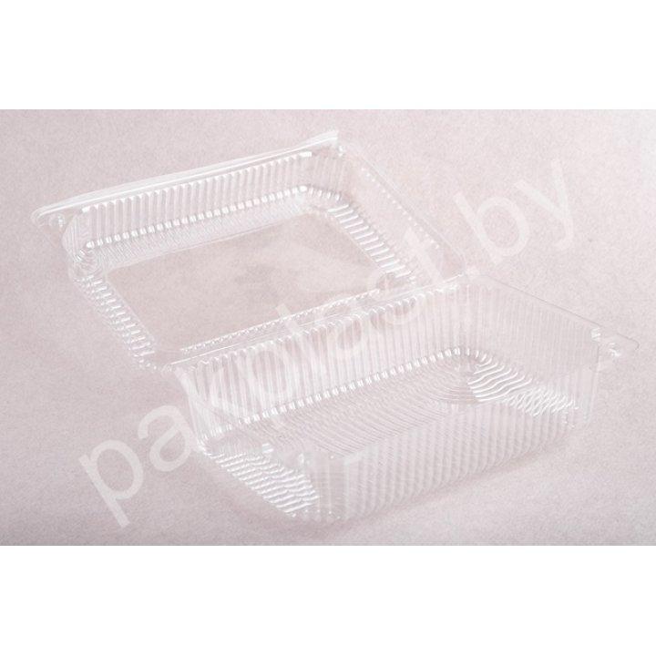Контейнеры одноразовые пластиковые упаковочные УК-815А-01, ПЭТ, прозрачные, ПЩ-1,18