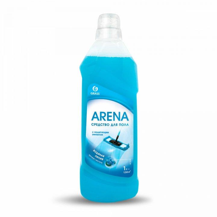 ГРАСС Средство для  пола с полирующим эффектом Арена 1000мл.Водяная лилия