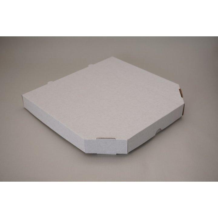 260х260х30мм. Ящик из гофрированного картона с БПС Белый