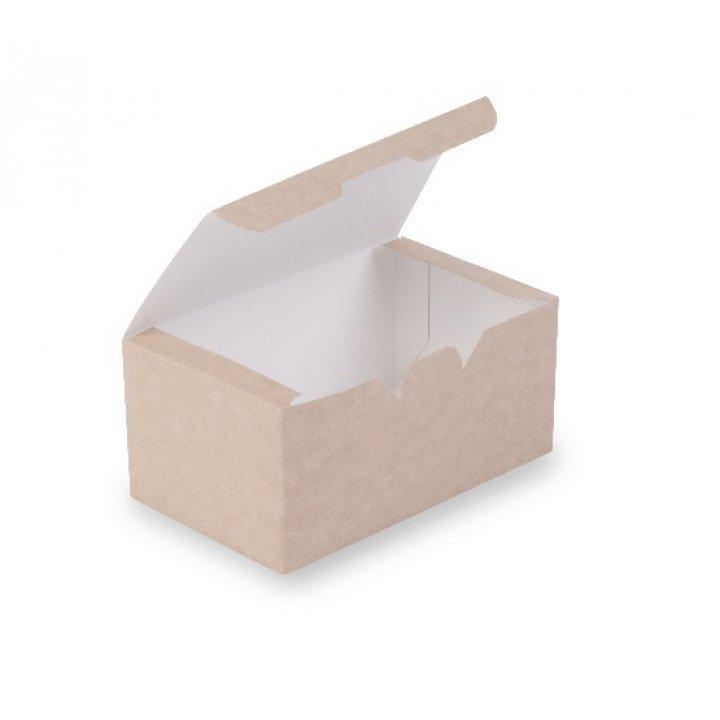 ECO FAST FOOD BOX L Коробка наггетсы миди для 9 шт. 150х91х70мм.